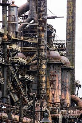 Photograph - Bethlehem Steel # 17 by Marcia Lee Jones
