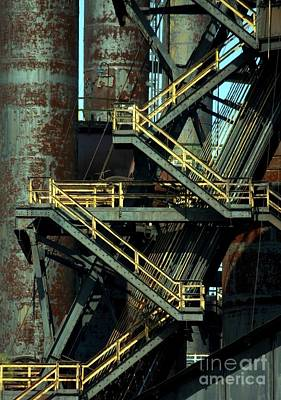 Photograph - Bethlehem Steel # 18 by Marcia Lee Jones