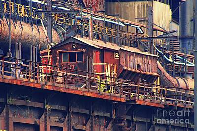 Photograph - Bethlehem Steel #10 by Marcia Lee Jones