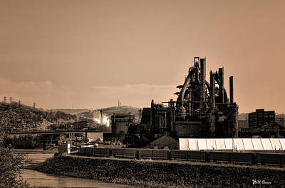 Bethlehem Steel Print by Bill Cannon