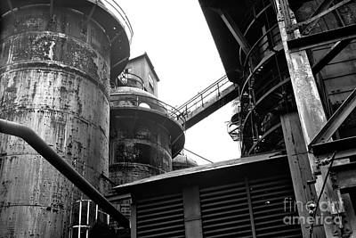 Photograph - Bethlehem Steel Dimensions by John Rizzuto