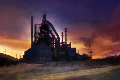 Bethlehem Steel Print by Lori Deiter