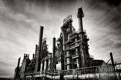 Art Print featuring the photograph Bethlehem Steel by Olivier Le Queinec