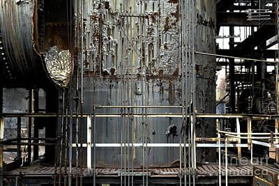Photograph - Bethlehem Steel Platform by John Rizzuto