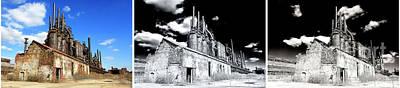 Photograph - Bethlehem Steel Triptych by John Rizzuto