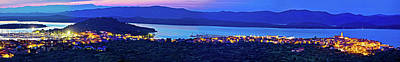 Photograph - Betina And Murter Island Evening Panorama by Brch Photography