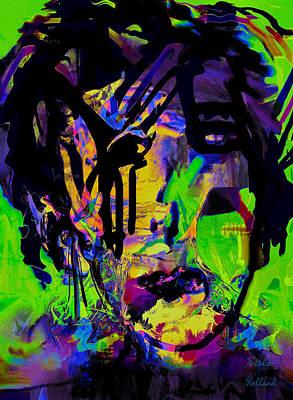 Outsider Art Mixed Media - Betrayal by Natalie Holland