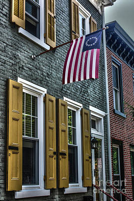 Photograph - Betsy Ross Flag by Sandy Moulder