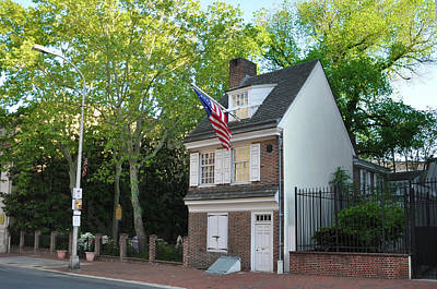 American Photograph - Betsy Ross House - Philadelphia Pennsylvania by Bill Cannon