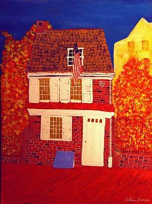 Betsy Ross's House Art Print