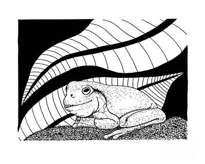 Betsy's Frog Art Print