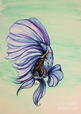 Painting - Betta by Lorah Buchanan