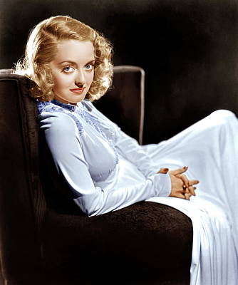 Bette Davis, Ca. Late 1930s Art Print by Everett
