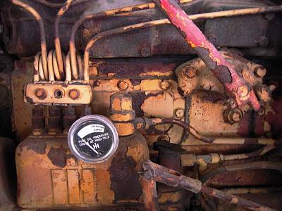 Art Print featuring the photograph Better Check That Oil Pressure by Don Struke