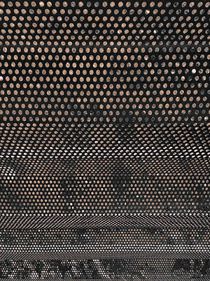 Screen Metal Sheet Photograph - Better Here Than There by Stan  Magnan