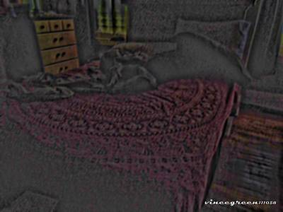 Unmade Bed Digital Art - Better Left Unsaid by Vince Green