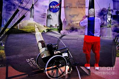John F Kennedy Space Center Photograph - Better Than Wheels by Lewis Lang