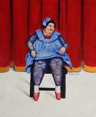 Painting - Betty 1 by Matthew Lake
