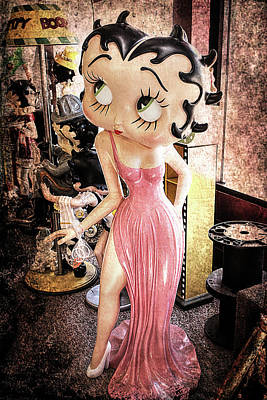 Betty Boo Photograph - Betty Boop by Susan Campbell