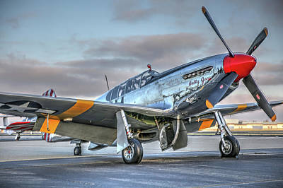 Photograph - Betty Jane P51d Mustang At Livermore by John King