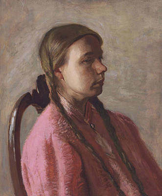 Painting - Betty Reynolds by Thomas Eakins