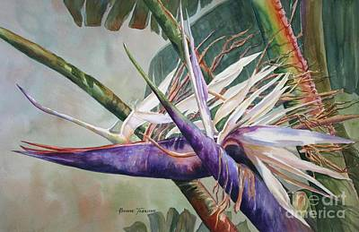 Painting - Betty's Bird - Bird Of Paradise by Roxanne Tobaison