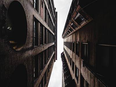 Photograph - Between Buildings In Saint Louis by Dylan Murphy