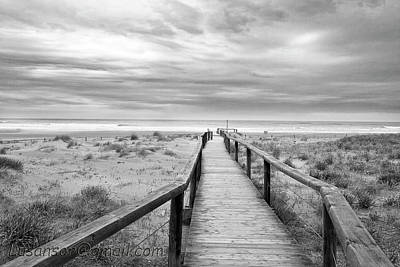 Clouds Over Sea Photograph - Between Heaven And Earth by Fotografiado por Lusansor