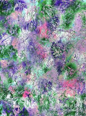 Splashy Art Painting - Fairy Fantasy Garden by Jo Ann Bossems