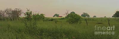 Photograph - Between La Grange And Columbus Texas Hwy 71 Panorama Circa 2007 by Felipe Adan Lerma
