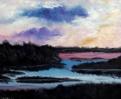 Painting - Between Night And Day by Lisa Aerts