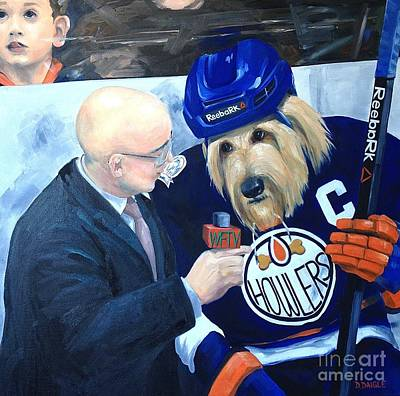Painting - Between Periods by Diane Daigle