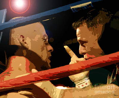 Between Rounds Art Print by David Lee Thompson