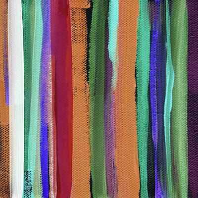 Mixed Media - Between Seasons- Art By Linda Woods by Linda Woods