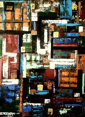 Painting - Between The Lines by Ray Khalife