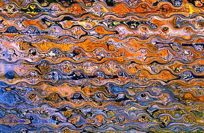 Digital Painting - Between The Ripples by George Voyajolu