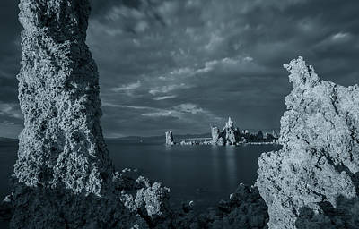 Photograph - Between The Tufas by Jonathan Nguyen