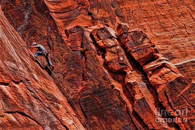 Photograph - Between Two Cliffs by Blake Richards