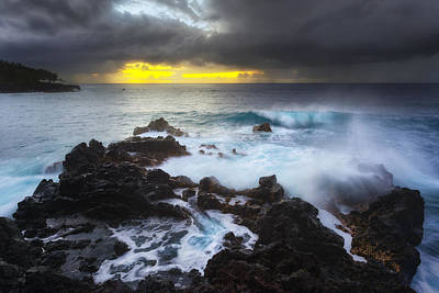 Photograph - Between Two Storms by Ryan Manuel
