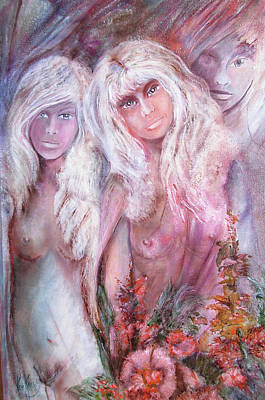 Between Women Original by Rene Pauwels
