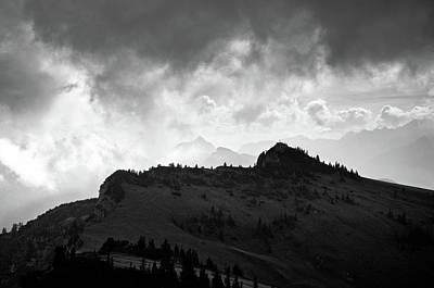Photograph - Beutelkopf And Clouds by Alexander Kunz