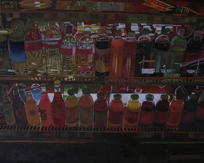 Soft Drink Painting - Beverage by Thu Nguyen