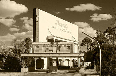 Drive In Theater Photograph - Beverly Drive-in Theater by Wayne Archer