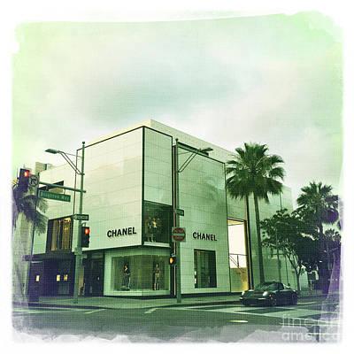 Beverly Hills Rodeo Drive 13 Art Print