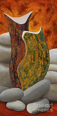Painting - Bevies And Cairns by Garry McMichael