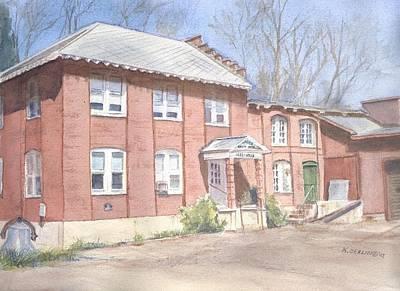 East Hampton Painting - Bevin Bells by Katherine  Berlin