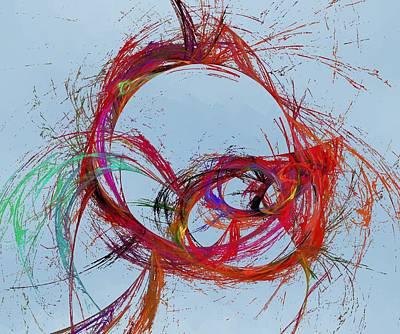 Digital Art - Bevisstgjoring by Jeff Iverson