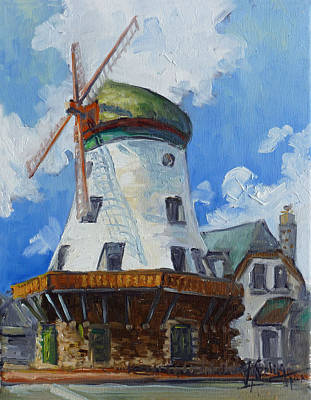 Painting - Bevo Mill - St. Louis by Irek Szelag