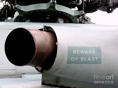 Digital Art - Beware Of Blast by Ed Weidman
