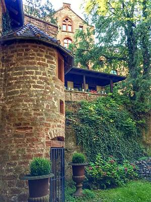 Photograph - Bewartstein Castle by Marty Cobcroft